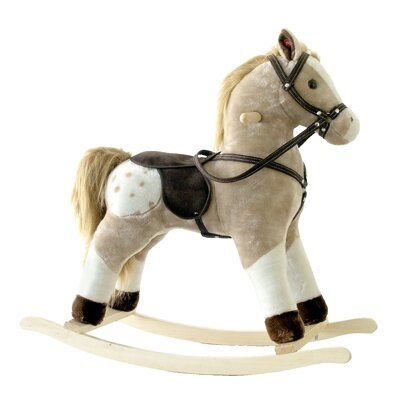 Alexander Taron Small Plush Rocking Horse