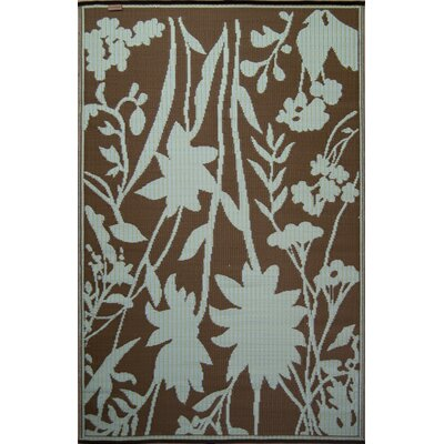 Bellingrath Teal/Brown Rug