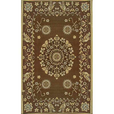 Pennsylvania Dutch Brown/Black Rug
