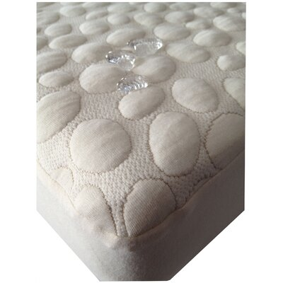 Dream Decor Pebbletex Organic Cotton Mattress Pad