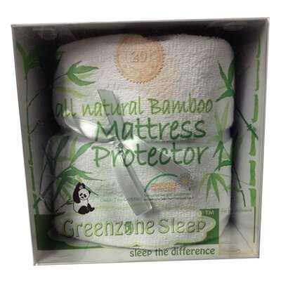 Greenzone Sleep Terry Cloth Mattress Pad
