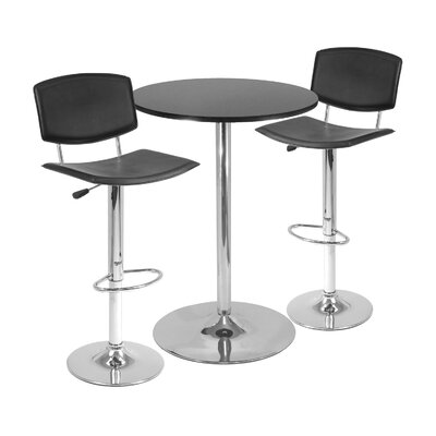 "Winsome 3-Piece 28"" Pub Table Set"