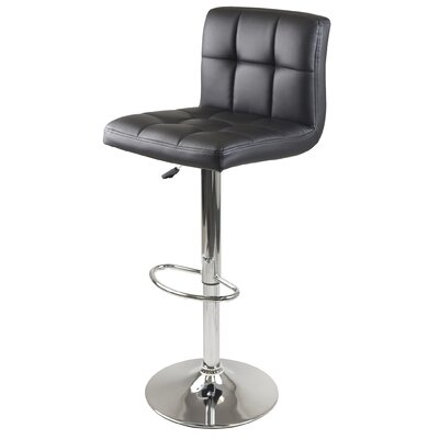 "Winsome Stockholm Airlift 23"" Adjustable Bar Stool"