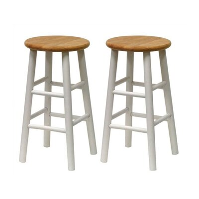 "Winsome Basics 24"" Barstool (Set of 2)"