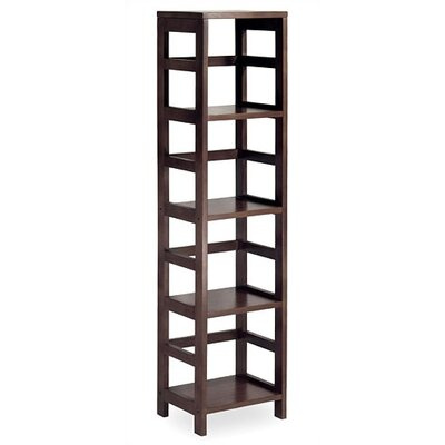 Winsome Espresso 4 Section Storage Shelf