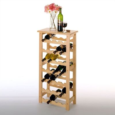 Basics 28 Bottle Wine Rack
