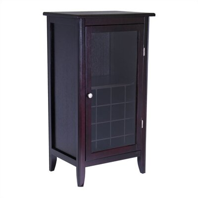 Espresso 16 Bottle Wine Cabinet