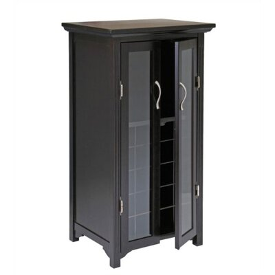 Winsome Espresso 20 Bottle Wine Cabinet