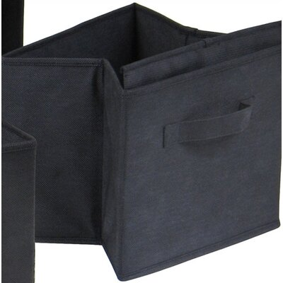 Winsome Capri Foldable Fabric Storage Baskets