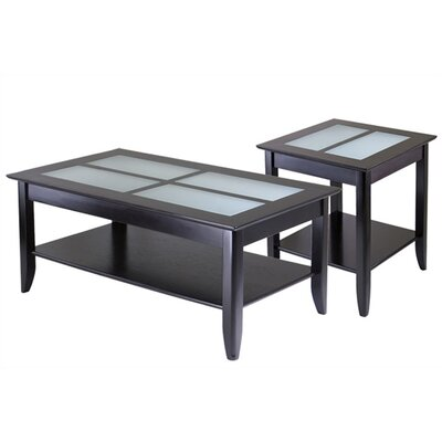 Winsome Syrah Coffee Table Set