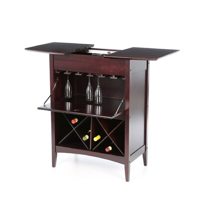 Winsome Espresso 24 Bottle Wine Rack