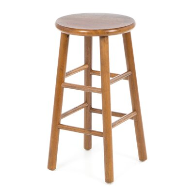 "Winsome 24"" Backless Bevel Seat Counter Stool (Set of 2)"