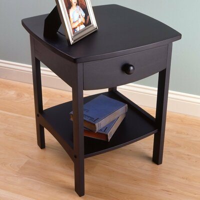 Winsome Basics 1 Drawer Nightstand