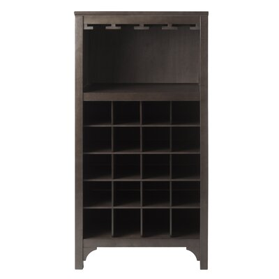 Ancona Modular 20 Bottle Tabletop Wine Cabinet