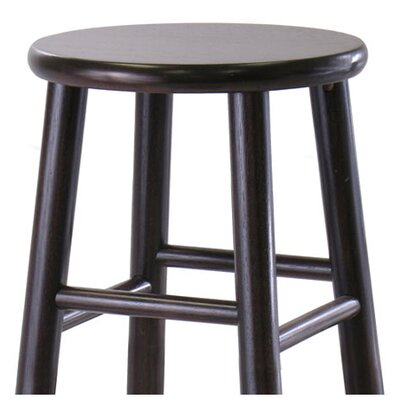 "Winsome Bevel Seat 30"" Bar Stool in Espresso (Set of 2)"