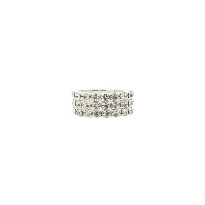 Roman Crystal Stretch Ring