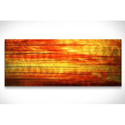 Metal Art Studio Abstract Momentum Graphic Art Plaque