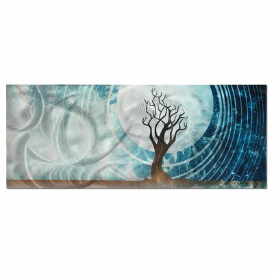 Metal Art Studio Twilight Graphic Art Plaque