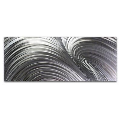 Metal Art Studio Fusion Composition Graphic Art Plaque