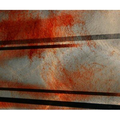 Metal Art Studio Interlude Graphic Art Plaque