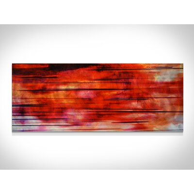 Metal Art Studio Tropical Sunset Wall Art