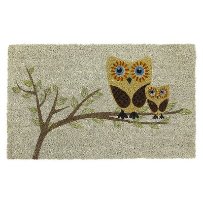 Entryways Sweet Home Give a Hoot Doormat