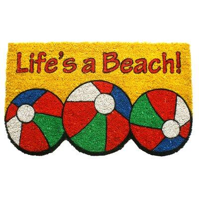Sweet Home Life's a Beach Doormat for Sale | Wayfair