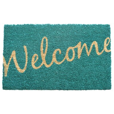 Entryways Sweet Home Cursive Welcome Doormat