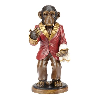Bombay Heritage Winston the Monkey Wine Bottle Holder