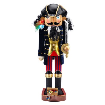 Captain Blackbeard Pirate Nutcracker
