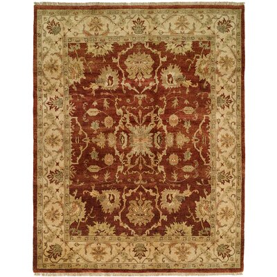 Antique Rust / Ivory Rug