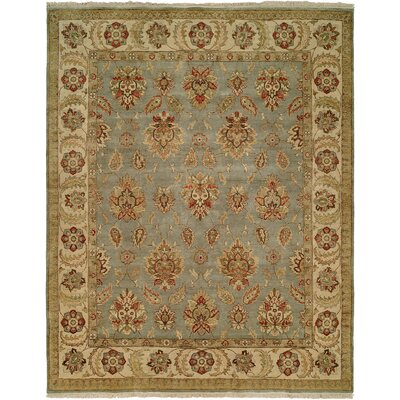 Wildon Home ® Light Blue / Ivory Rug