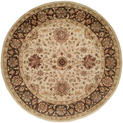 Wildon Home ® Ivory / Brown Rug