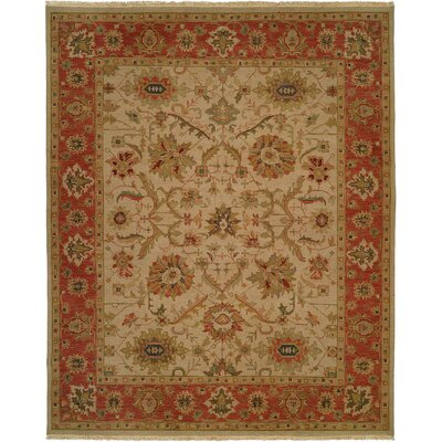 Wildon Home ® Ivory / Rust Rug