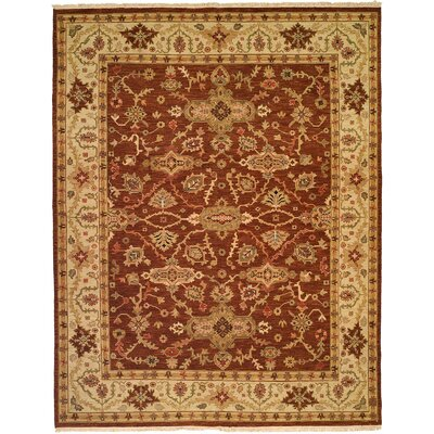Wildon Home ® Rust / Ivory Rug