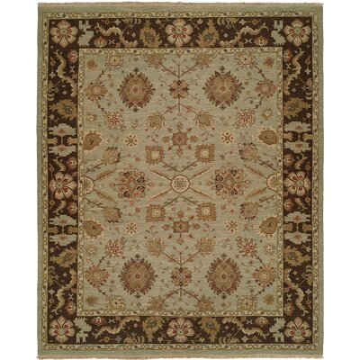 Wildon Home ® Light Blue / Brown Rug