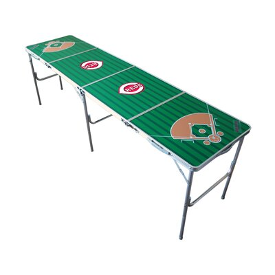 "Tailgate Toss MLB 24"" x 96"" Tailgate Table"
