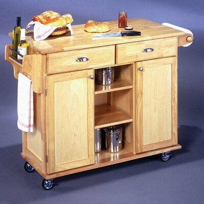 Home Styles Napa Kitchen Cart | Wayfair