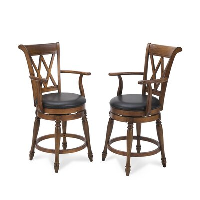 Home Styles Deluxe Traditions Swivel Bar Stool
