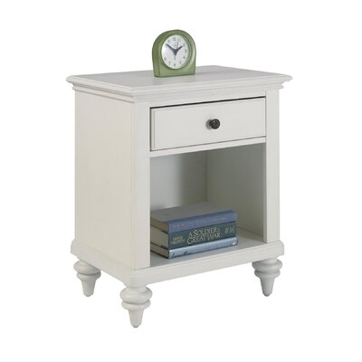 Home Styles Bermuda 1 Drawer Nightstand