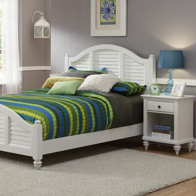 Bermuda Queen Bed and Nightstand