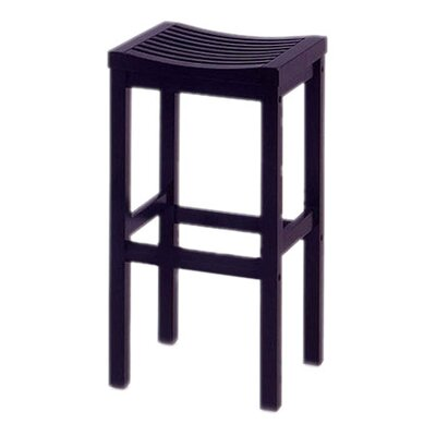 "Home Styles 29"" Black Contour Stool"