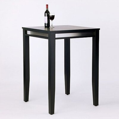 Home Styles Manhattan Pub Table in Black