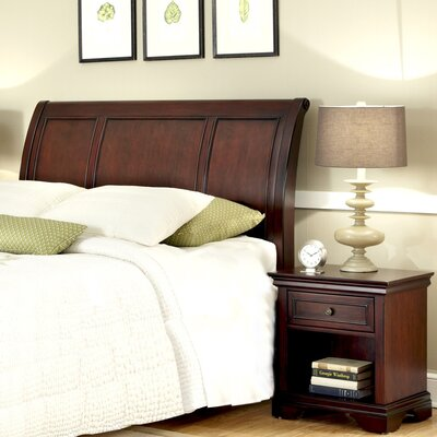 Home Styles Lafayette 2 Piece Sleigh Headboard Bedroom Collection