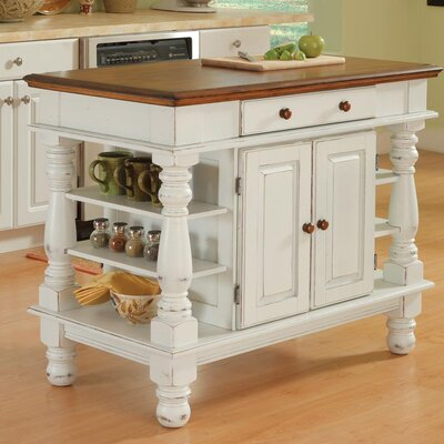 Home styles americana kitchen island reviews wayfair for Americana style house