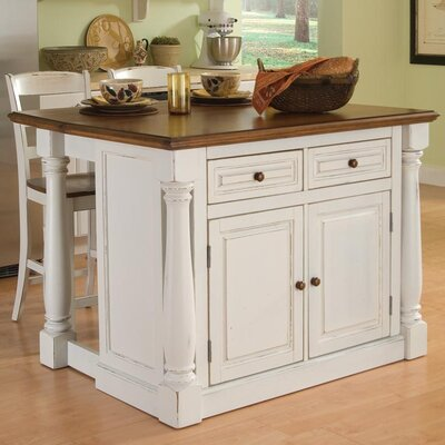 home styles monarch 3 piece kitchen island set reviews