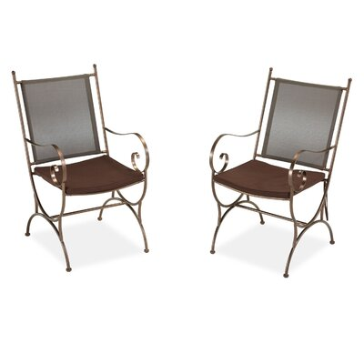 Home Styles Sundance Dining Arm Chair with Cushion (Set of 2)