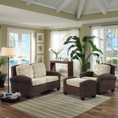 Home Styles Cabana Banana II 3 Piece Living Room Set
