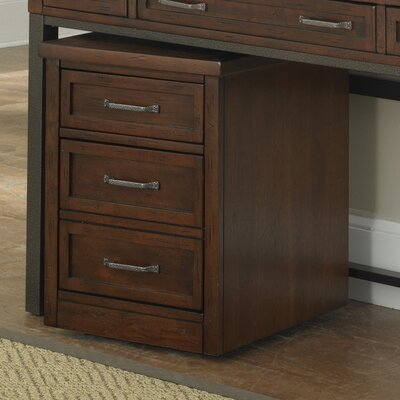 Home Styles Cabin Creek 3-Drawer Mobile File