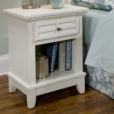 Home Styles Arts and Crafts 1 Drawer Nightstand